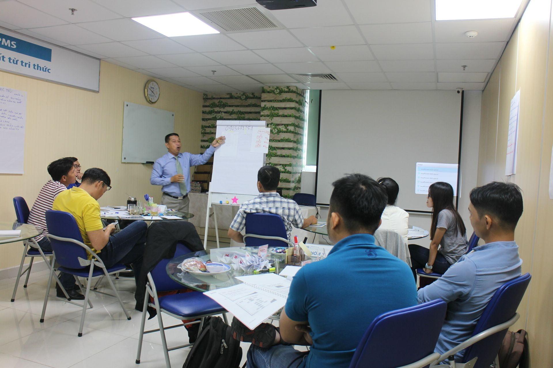 Khóa đào tạo : Lean Manufacturing tại PMS